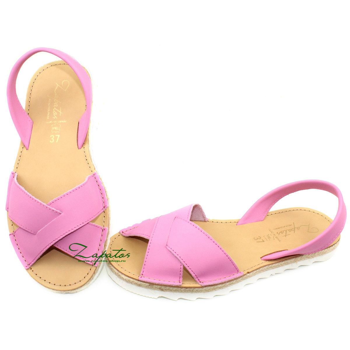 Абаркасы Zapatos Cruz-Yute fuxia