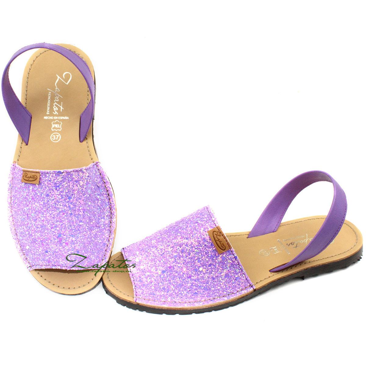 ZAPATOS · 364 glitter purpura — АКЦИЯ