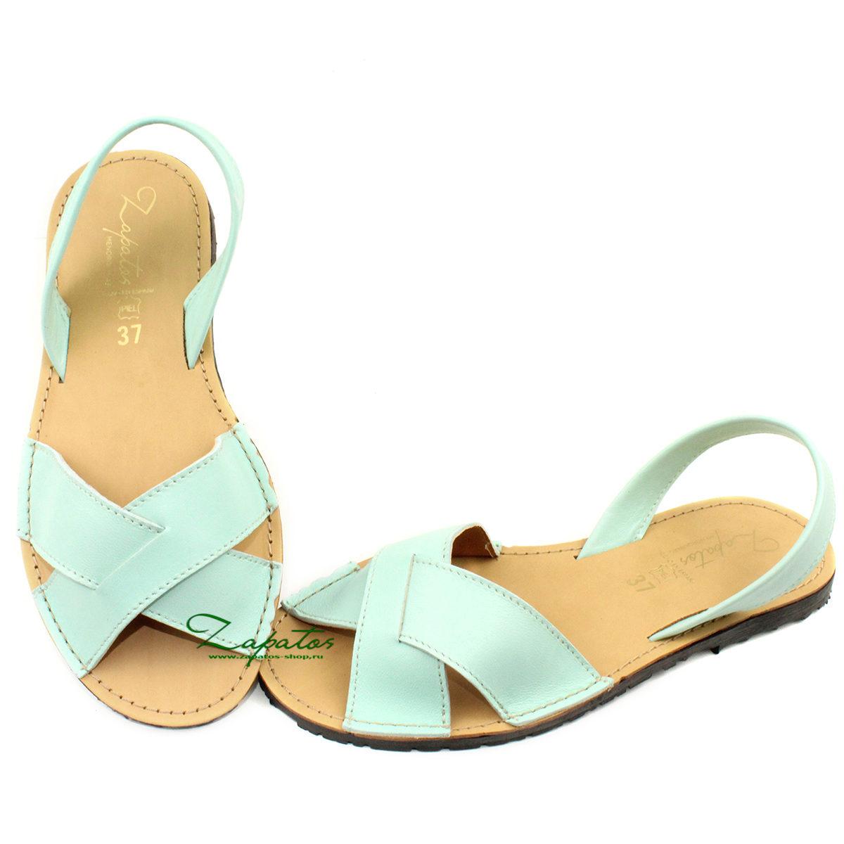 Zapatos Cruzado menta