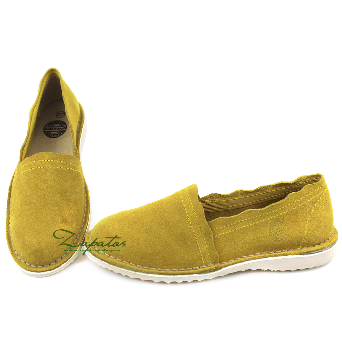 АВ. Zapatos CAMPING AMARILLO — РАСПРОДАЖА