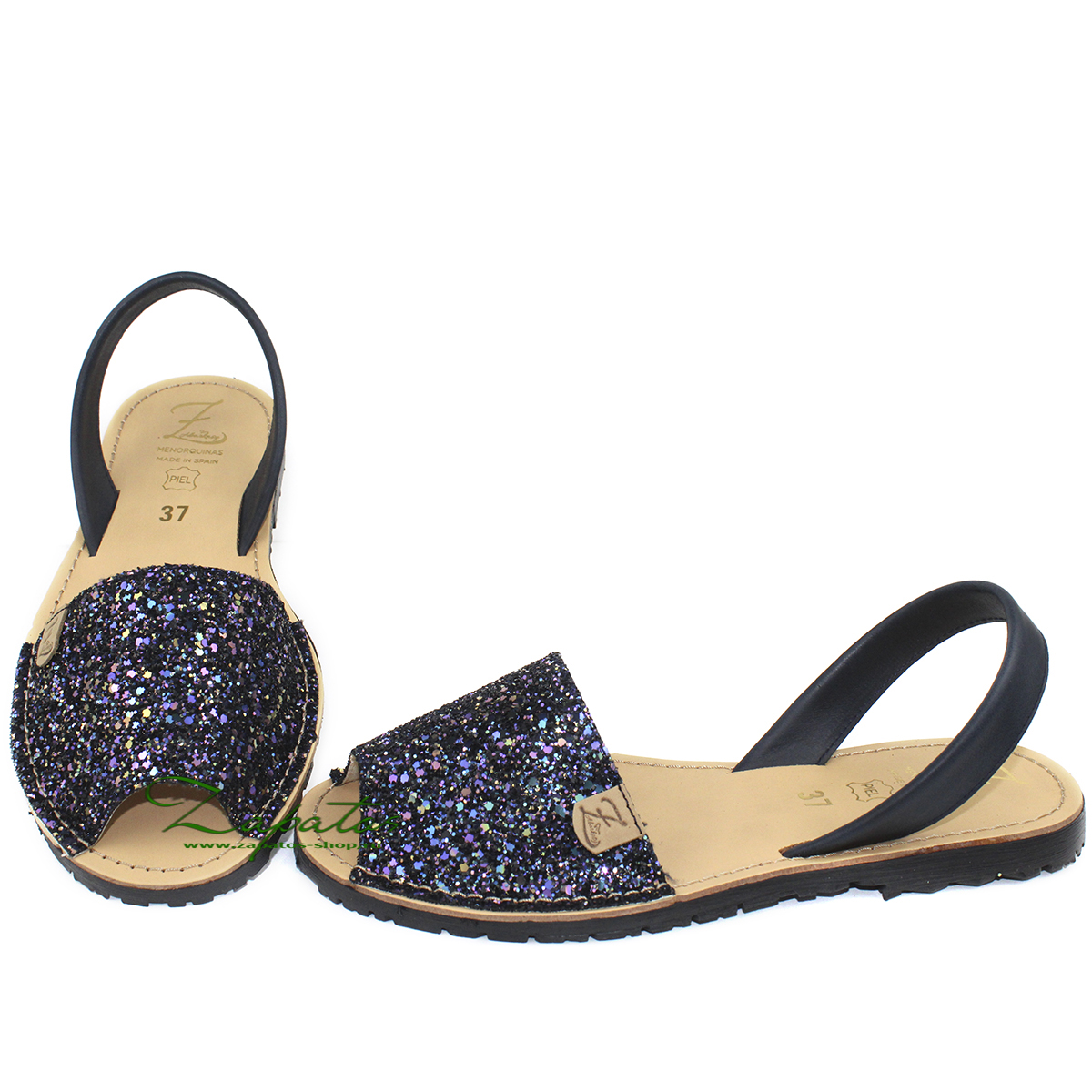 AB. Zapatos 320-5 GLITTER MARINO — АКЦИЯ