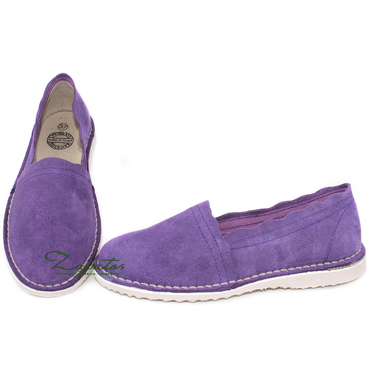 АВ. Zapatos CAMPING LAVANDA — РАСПРОДАЖА