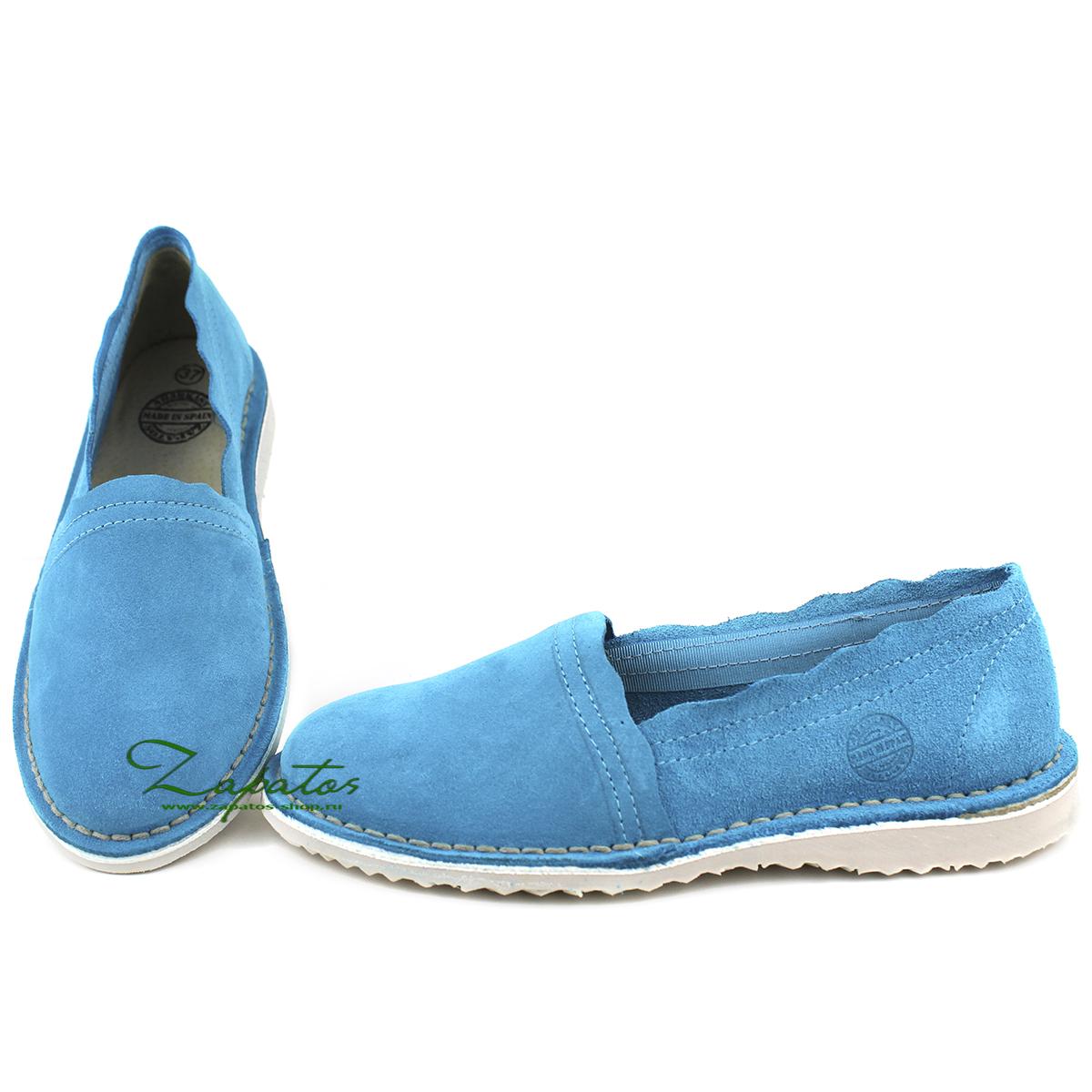 АВ. Zapatos CAMPING TURQUESA — РАСПРОДАЖА