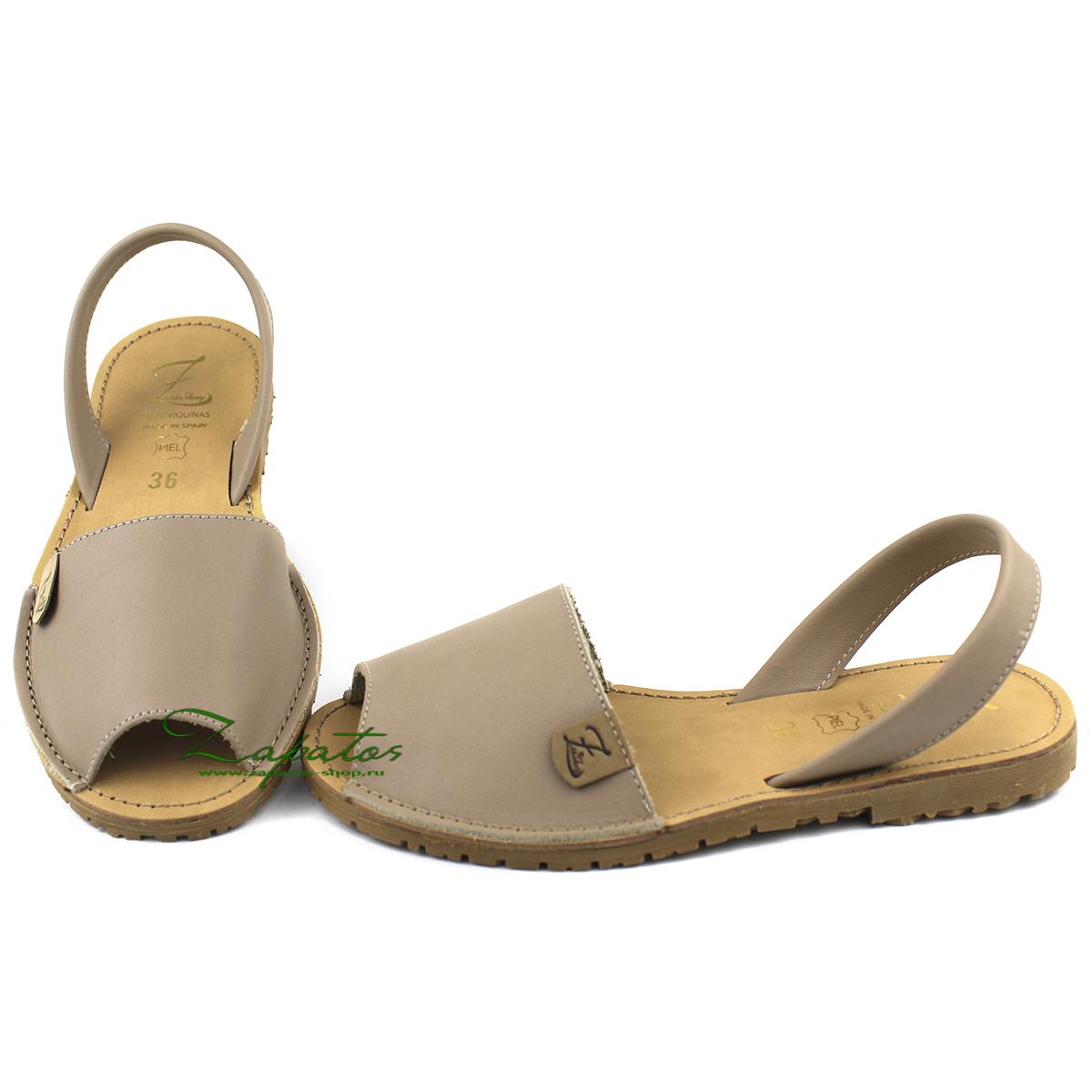 Абаркасы AB. Zapatos 320 taupe — karamelo