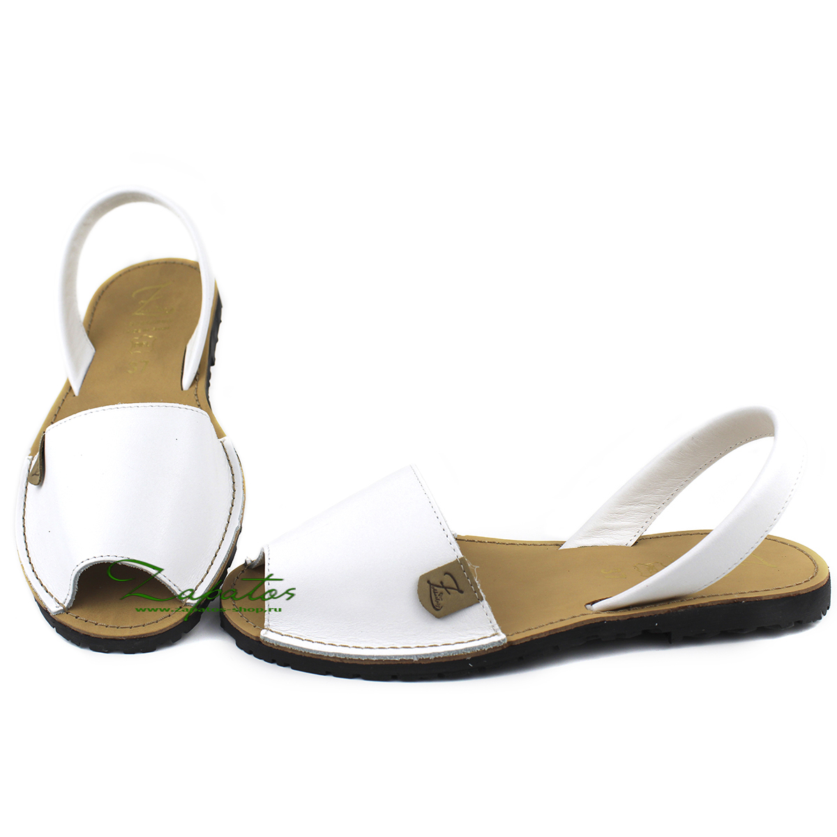 AB. Zapatos 320  blanco