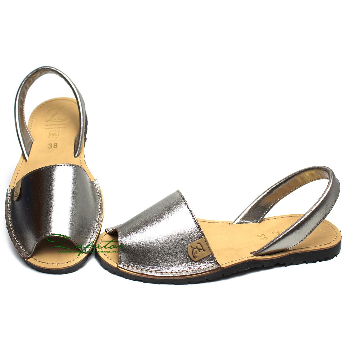 Абаркасы AB. Zapatos 3204 plata