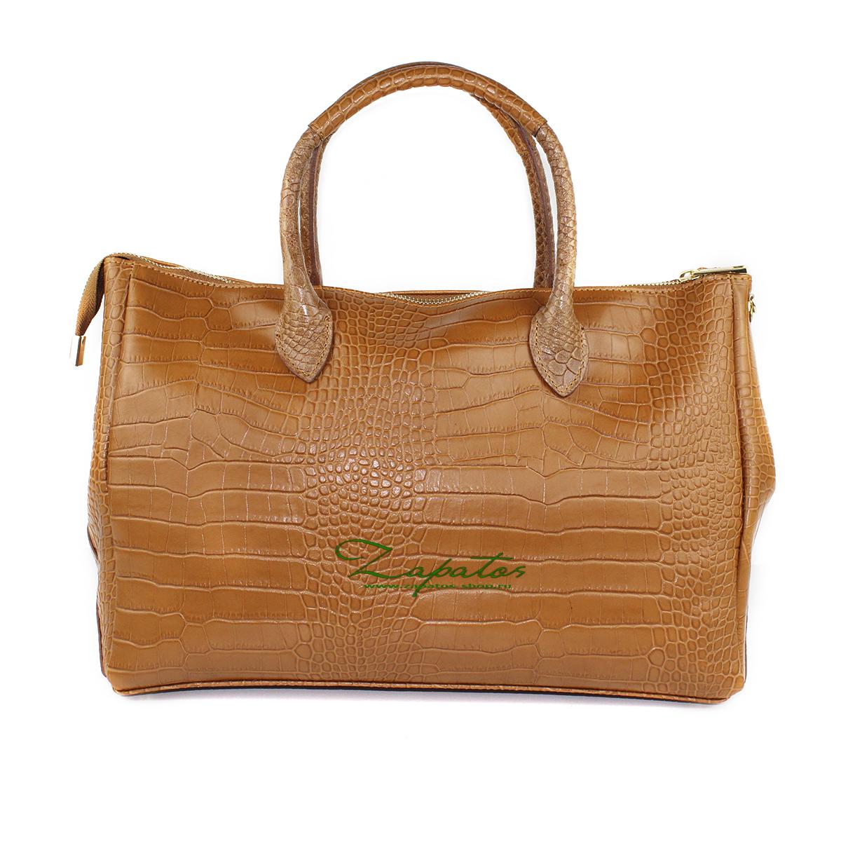 Кожаная сумка PELLE · KEYS Camel