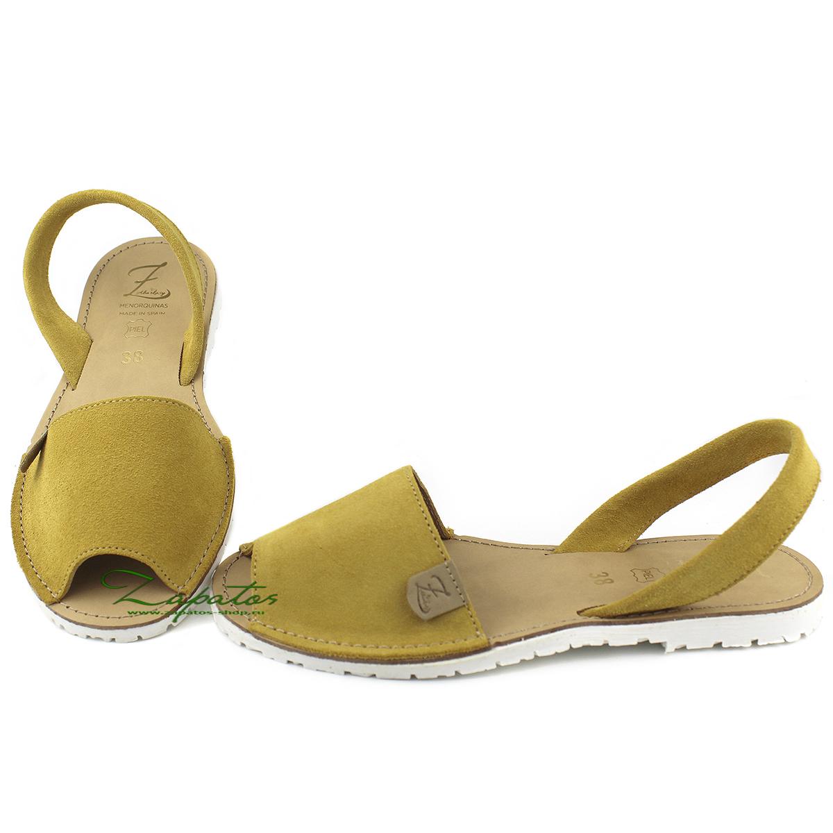 Абаркасы AB. Zapatos 3206 Ocra -blanco