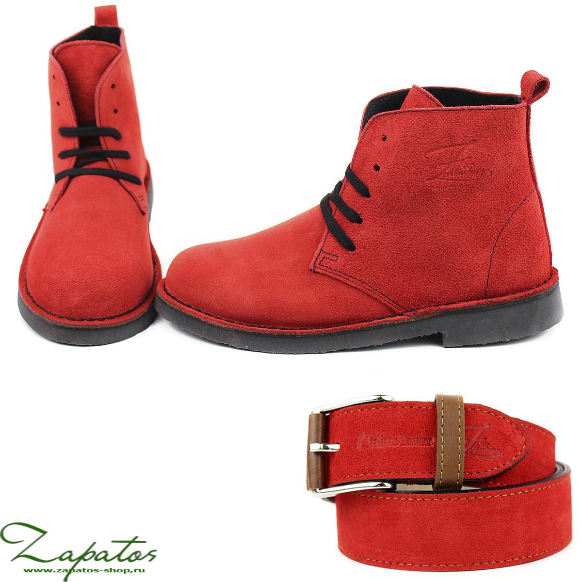 Дезерты Ab. Zapatos 1619 New R·FUEGO + Ab.Zapatos Pelle cinturon (140) Fuego