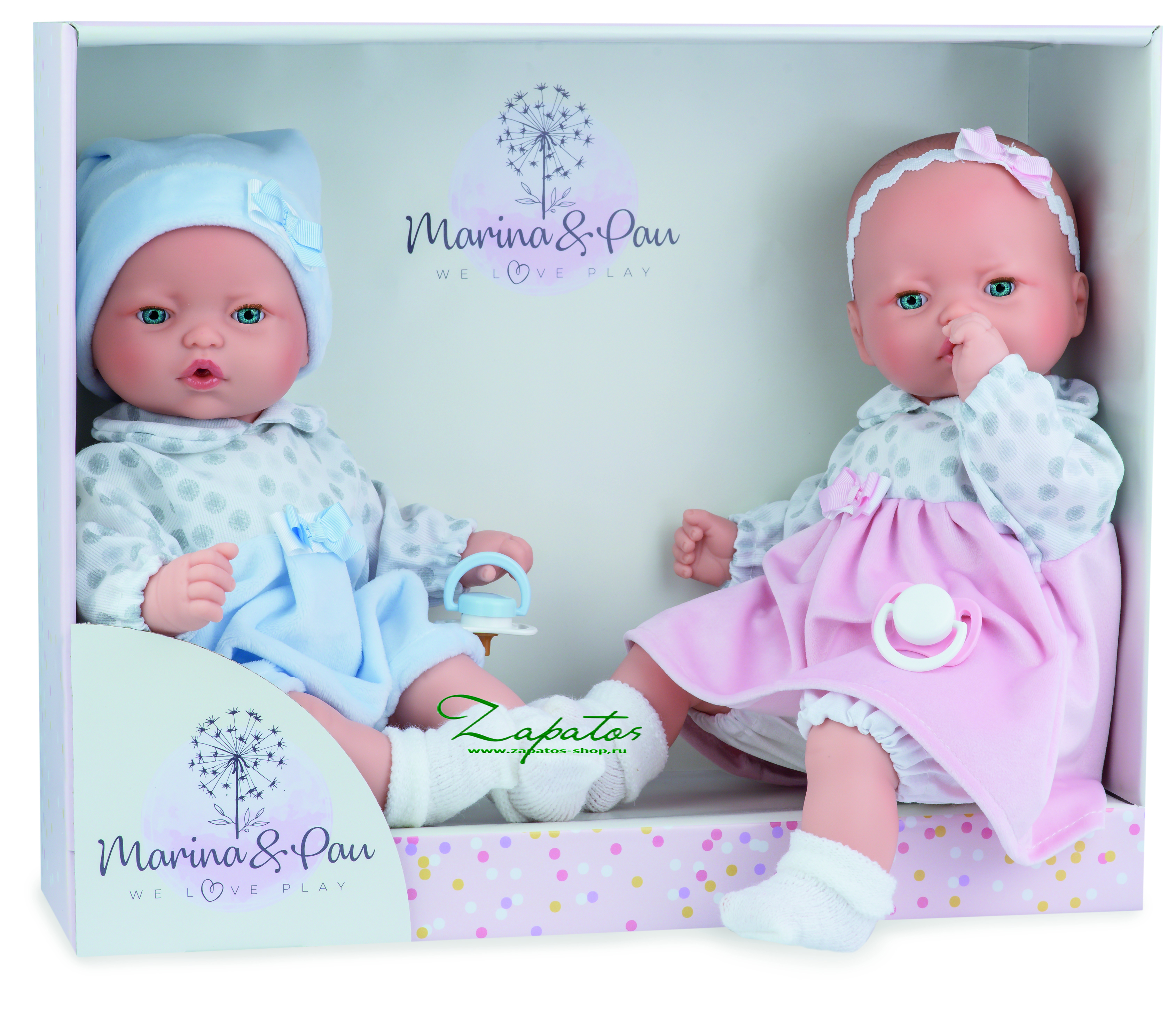 Кукла MARINA & PAU • PITUS MELLIZOS •