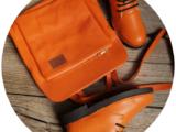 Ab.Zapatos 4619/2+PELLE Mochibol (840) Naranja