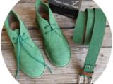 АВ. Zapatos 1515/2 Encina+Ab.Zapatos Pelle cinturon (140) Encina АКЦИЯ