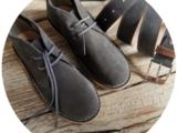 АВ. Zapatos  1515/2 Grey+Ab.Zapatos Pelle cinturon (140) Grey AКЦИЯ
