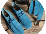 АВ. Zapatos 1515/2 Petroleo+Ab.Zapatos Pelle cinturon (140) Petroleo AКЦИЯ