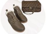Ab.Zapatos 4619/2 piedra+PELLE · COCO· XL