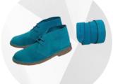 Ab. Zapatos 1515/2 · TURQUESA+CINTURON Ab.Zapatos (140)