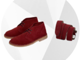 Ab. Zapatos 1515/2 · GRANATE+CINTURON Ab.Zapatos (140)