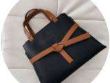 Кожаная сумка PELLE Glamur NEGRO