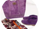 АВ. Zapatos 1515/2 LAVANDA+Ab.Zapatos SHOPPER LAVANDA+ПАЛАНТИН В ПОДАРОК 🎁 АКЦИЯ