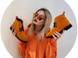 AB.Zapatos 1619/2 New · R · Mandarina+Shell & Deep gato — naranja