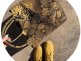 АВ. Zapatos 1515/2+PELLE SHOPPER SERPIENTE/2