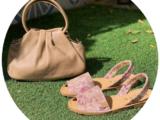 AB.Zapatos · 320-7 estampado beig+Сумка PELLE · LUX 🛍️