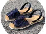 Абаркасы ZAPATOS · 5364 glitter marino — РАСПРОДАЖА