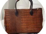 Кожаная сумка PELLE · KEYS (870) marron 🤎