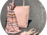 Ab.Zapatos 320-8 PC · Rosa+AB.Z · Pelle · shopper rose (520)+ Pañuelo silk (160)