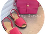 AB. Zapatos 320 FUXIA+PELLE 169 FUXIA 💞