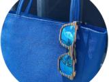AB.Z · Pelle · shopper Royal (520)+FishShell & Deep-rallas — azul