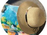 Пляжная сумка ARTE (300) 0015+Женская шляпа — 5 (170 )
