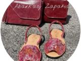 Ab.Zapatos 320-8 Hojas Rojo+Pelle 11/03 💕