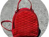AB.Z · Pelle · mochila 421 (650) ❤ rojo