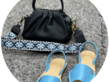 AB. Zapatos 320 SKY BLUE+PELLE · LUX negro