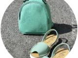 AB.Zapatos · 3202 menta+AB.Z · Pelle · mochila NAPA (630)