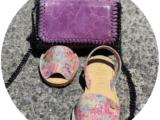 AB.Zapatos · 3207PC · clavel multicolor+Pelle CANDELA — ЛАВАНДА