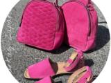 AB.Zapatos · 966 · Fuxia-Rosa+AB.Z · Pelle · mochila 421 (650) Fuxia