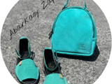 AB.Zapatos · 966 · Acuario+AB.Z · Pelle · mochila serraje (610) acuario