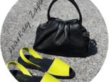 Ab.Zapatos 320-8 PC pistacho+PELLE · LUX negro