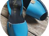 Ab.Zapatos 320-8 turquesa