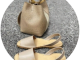 AB. Zapatos 320 taupe — karamelo+Pelle Doble (720) taupe