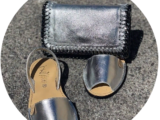 AB. Zapatos 3204 plata+Pelle CANDELA