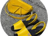 Ab.Zapatos 320-8 PC· Amarillo+PELLE Disnapa AMARILLO