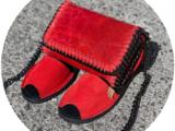 Ab.Zapatos • 3106-8 • Fuego+Pelle CANDELA rojo