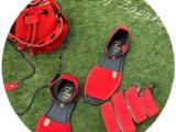 AB.Zapatos · 966 · Rojo+AB.Z · Pelle · Bary ser (650) Fuego+CINTURON Ab.Zapatos (140) · rojo