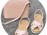Zapatos Cruz-Yute rosa+PELLE- 2711 ROSE