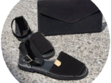 AB.Zapatos · 966 · Negro+PELLE Cartera — АКЦИЯ