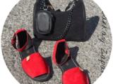 AB.Zapatos · 966 · Rojo-Negro+AB.Z · Pelle · 21-19 (370) negro