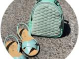 Zapatos Cruzado menta+AB.Z · Pelle · mochila 421 (650) menta